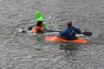 kayak training 3
