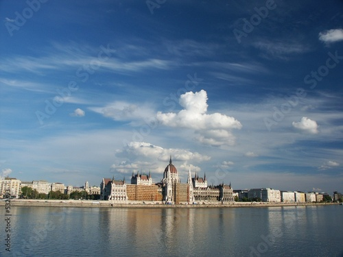 hungarian parliament and danube