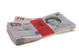 bundles of cash poster