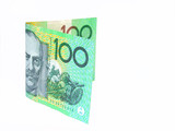$100 note poster