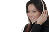 attractive telephone operator poster