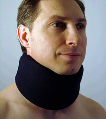semi-rigid cervical collar 1