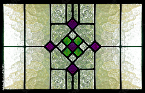stained glass window - 536373