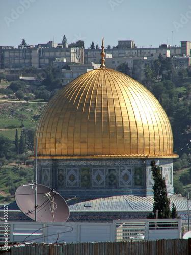 Leinwanddruck Bild dome of mosque