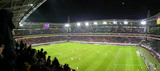 panorama of football stadium