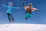 flying kids poster