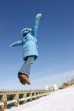 flying girl poster