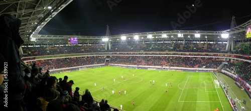 panorama of football stadium - 539921
