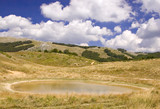 a little pond in the national park galichica, mace poster