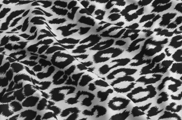 animal print on fabric