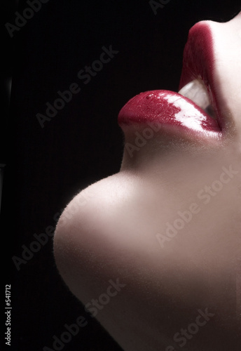 Photo: sensual lips © Ivan Grlic #