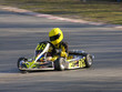 yellow and black go kart
