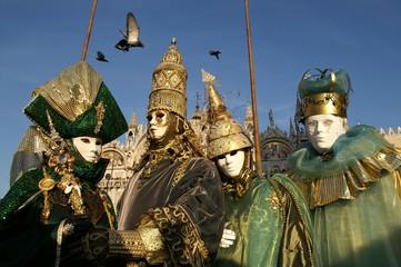 le quatuor carnavalesque