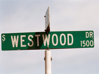 streetsign: westwood drive