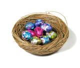 candy easter eggs poster