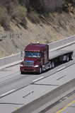 flat bed truck poster