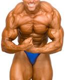 bodybuilder isolated poster
