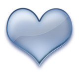 heart gel poster