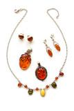 amber jewelry poster