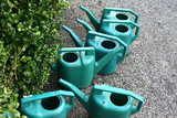 watering cans poster