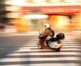 Fototapety traffic in paris