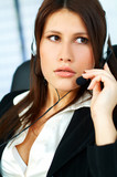call center agent poster
