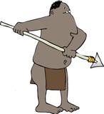 spear man poster