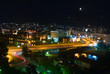 city of skopje at night
