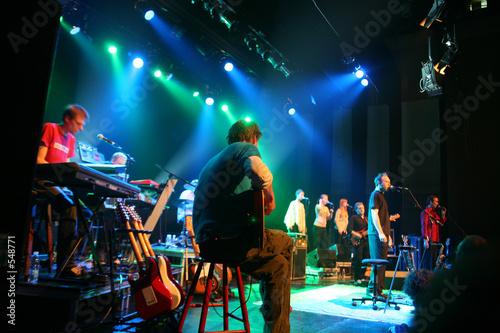 Leinwanddruck Bild rock concert