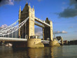 london tower bridge by afternoon