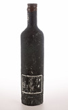 vintage bottle of wine poster