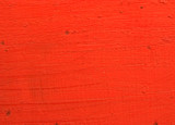 red background with scratched texture poster