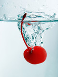 cherry splash poster