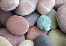 gladde stenen