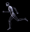 x-ray man running