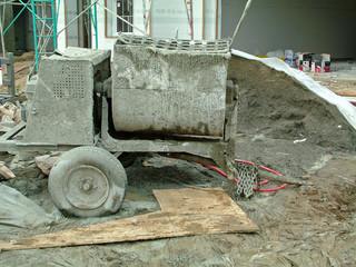 stucco mixer