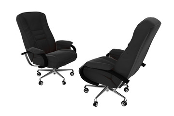 isolated office armchair 04
