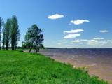spring. river poster