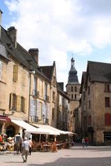 french village square sarlat