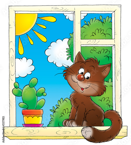 poster of cat