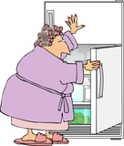 raid the refrigerator poster