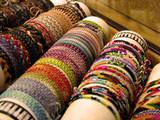 flower power bracelets poster