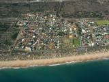 coastal town poster