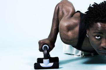 pushups, hi key