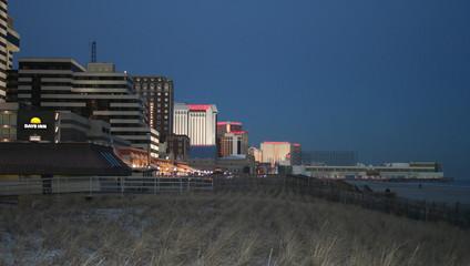 atlantic city at night