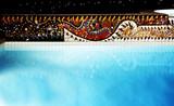swiming pool poster