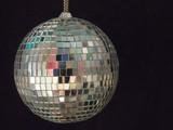 shiny disco ball 1 poster
