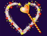 magic heart poster