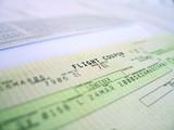 flight ticket 1 poster