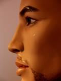 visage masculin poster